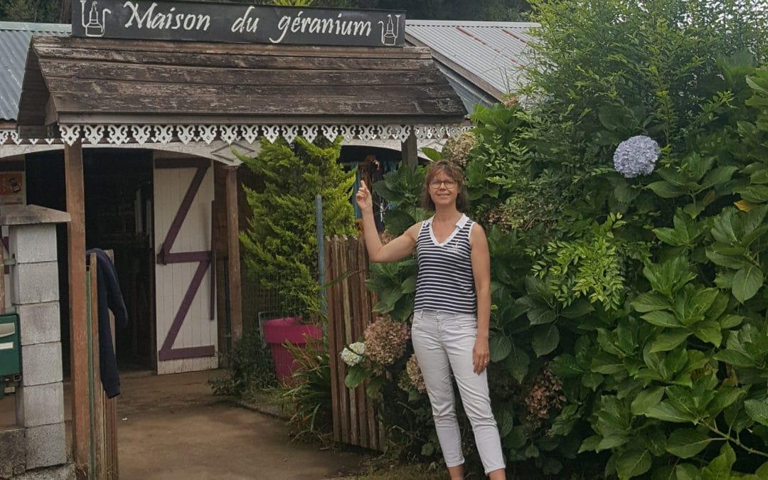 Visite de la Maison du Géranium à La Réunion