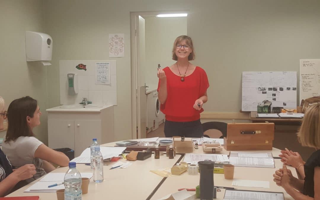Retour sur les présentations d'aromathérapie et de phytothérapie du mois d'octobre