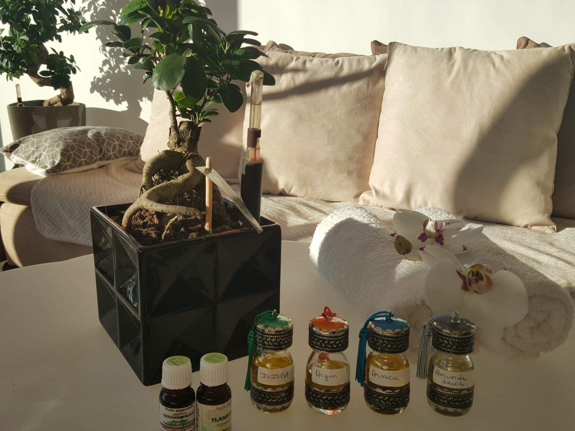 Photo huile massage 1