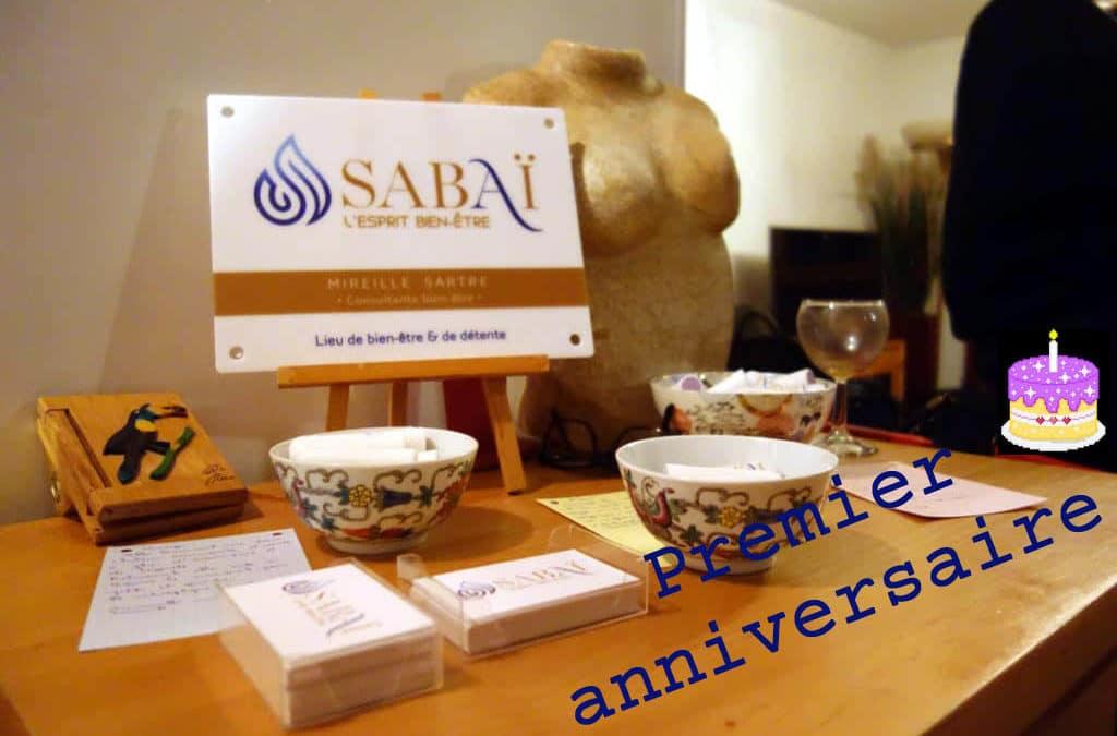 Dimanche 8 mars 2020, journée de la femme et… premier anniversaire de Sabai L'esprit bien-être